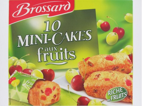 Mini cakes aux fruits brossard x10 300 grs epicerie for Papeterie brossard