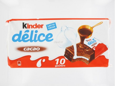 Kinder délice cacao x10 420 grs