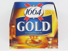 1664 Gold Kronenbourg 6x 25cl 6.1% vol.-