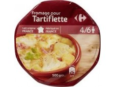 Fromage Tartiflette Carrefour 500 grs