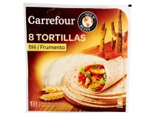 Tortillas Blé Carrefour 320 grs