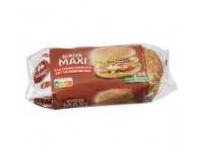 Maxi Pain Burger Complet Carrefour 330 Grs